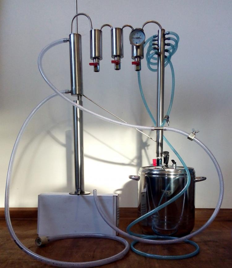 Pressure Cooker Distiller ~ In distiller pressure cooker l moonshine still