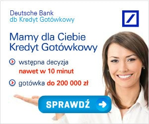 kredyt gotówkowy od deutsche bank