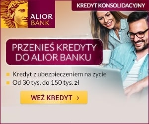 alior - pożyczka konsolidacyjna