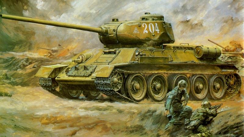 Segunda G. Guerra – As derrotas soviéticas no uso errado de Carros de Combate (Tanque)