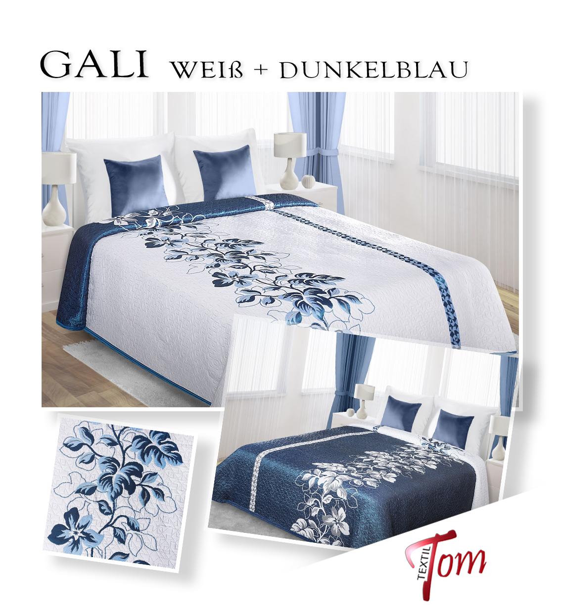zweiseitige tagesdecke bett berwurf 170x210 220x240 230x260 viele modelle ebay. Black Bedroom Furniture Sets. Home Design Ideas