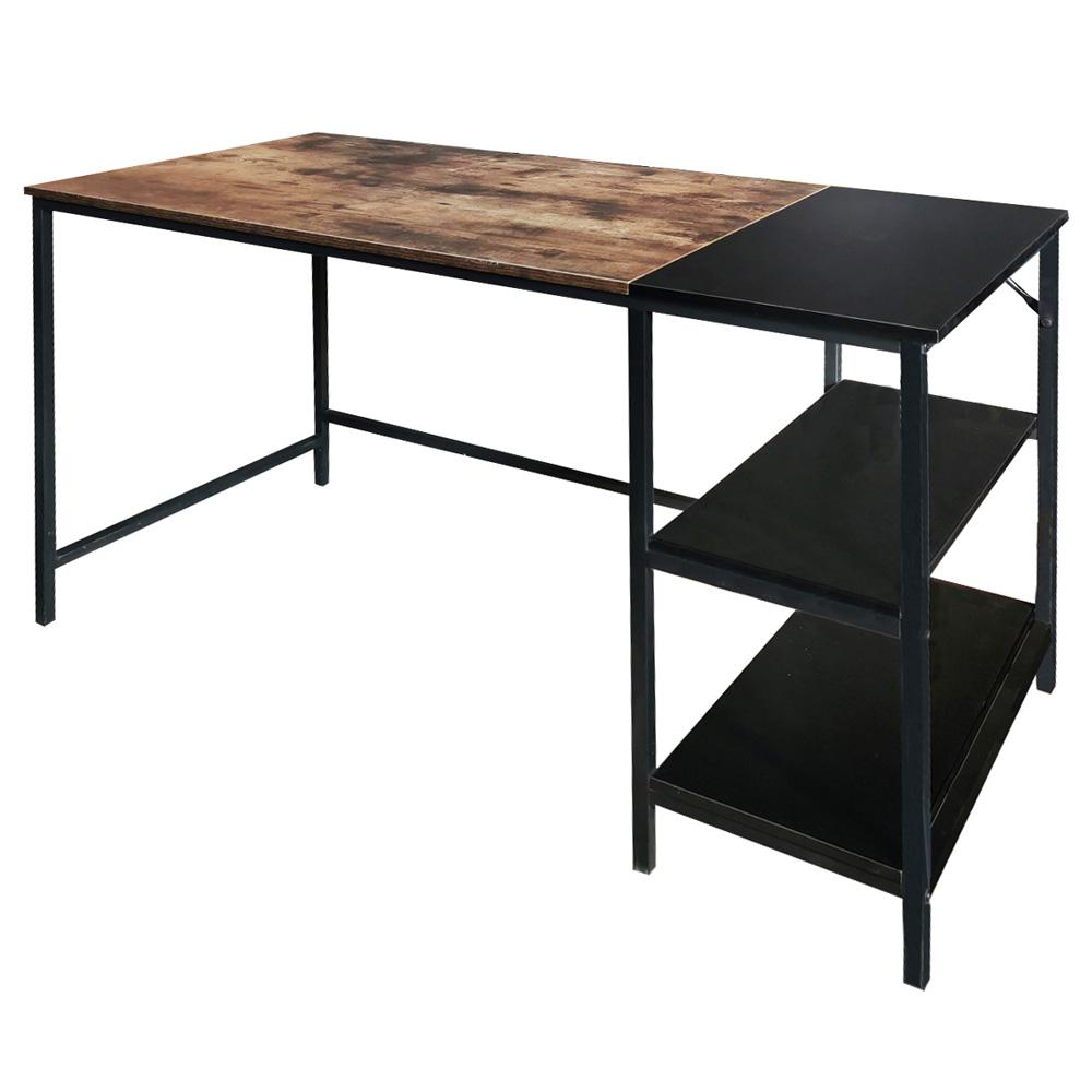 Schreibtisch RAMIZU mit Regalfächern