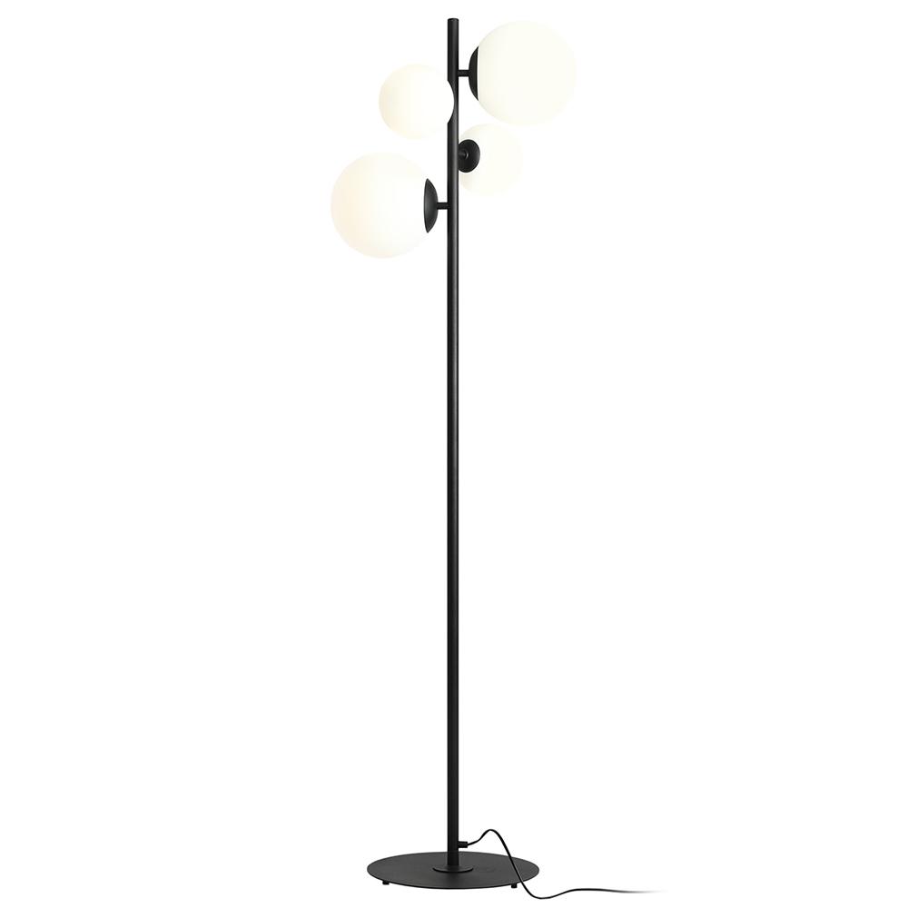 Stehlampe MAURIC Schwarz