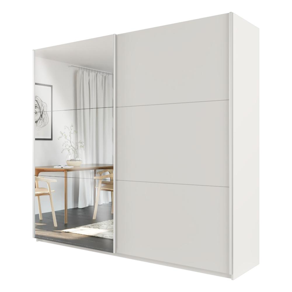 Kleiderschrank DURKA 225 cm mit Spiegel