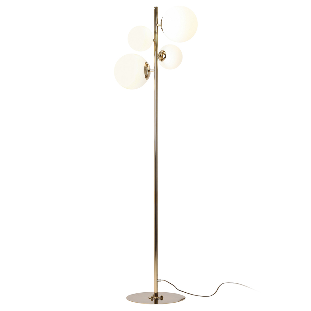 Stehlampe MAURIC Gold
