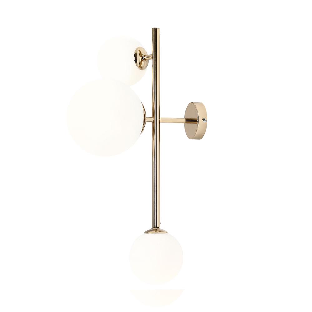 Wandlampe MAURIC x3 Gold