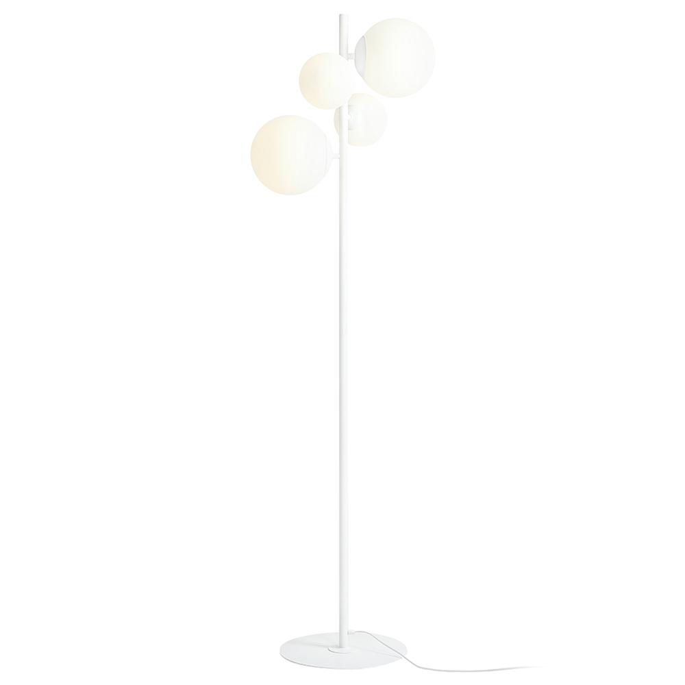 Stehlampe MAURIC Weiß