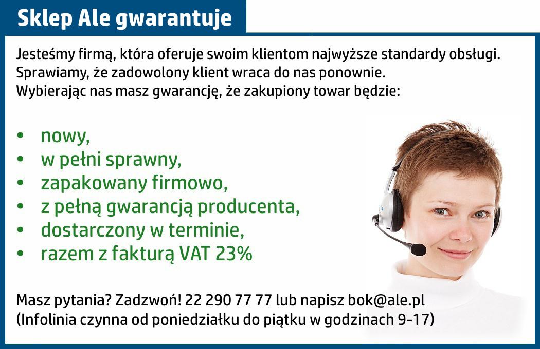 sklep www.ale.pl gwarantuje