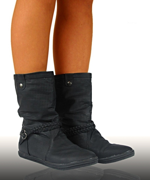 stiefel flach turnschuhe stiefeletten luftige ankle boots. Black Bedroom Furniture Sets. Home Design Ideas