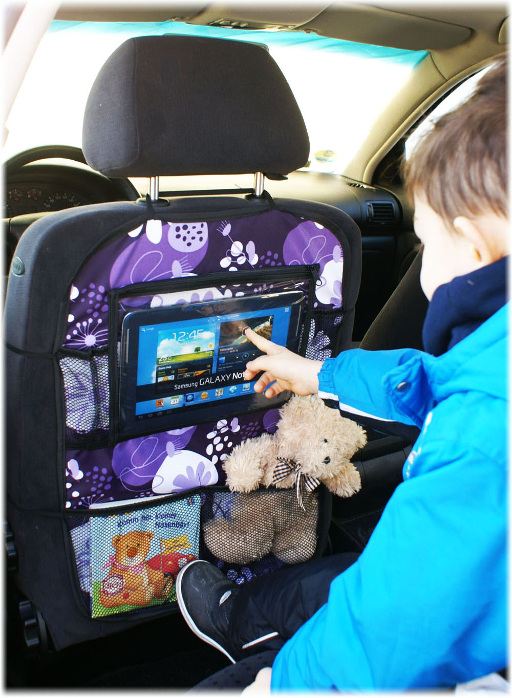 auto r cksitz tablet baby kinder ipad organizer tasche. Black Bedroom Furniture Sets. Home Design Ideas