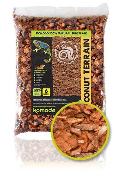 Komodo Coconut Terrain - podłoże kokosowe 6l