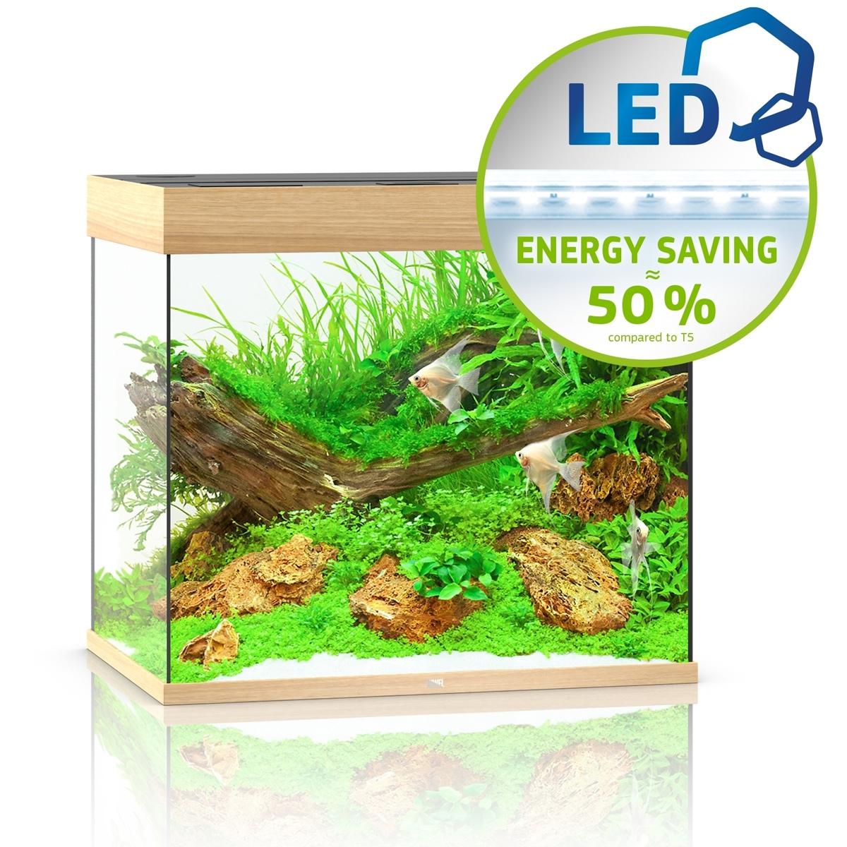 Juwel Lido 200 LED jasne drewno - akwarium