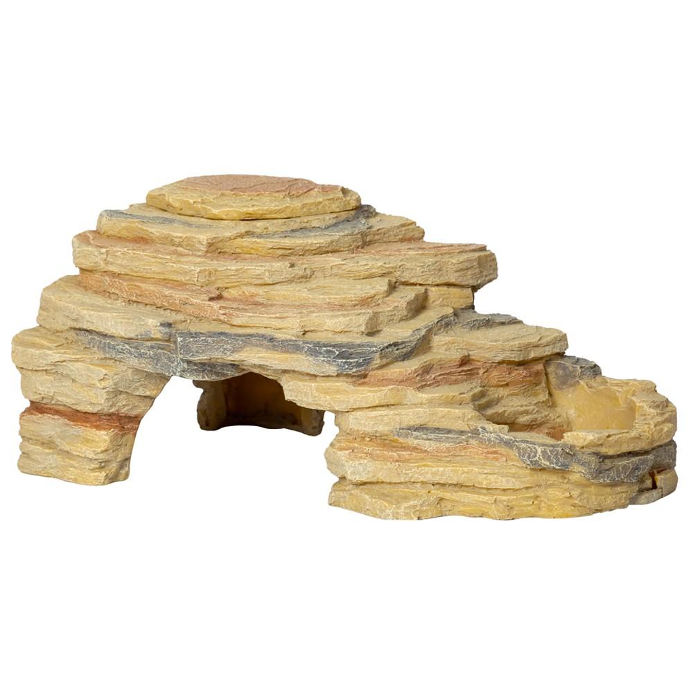 Repti-Zoo Leopard Gecko Rock Set - zestaw pustynny