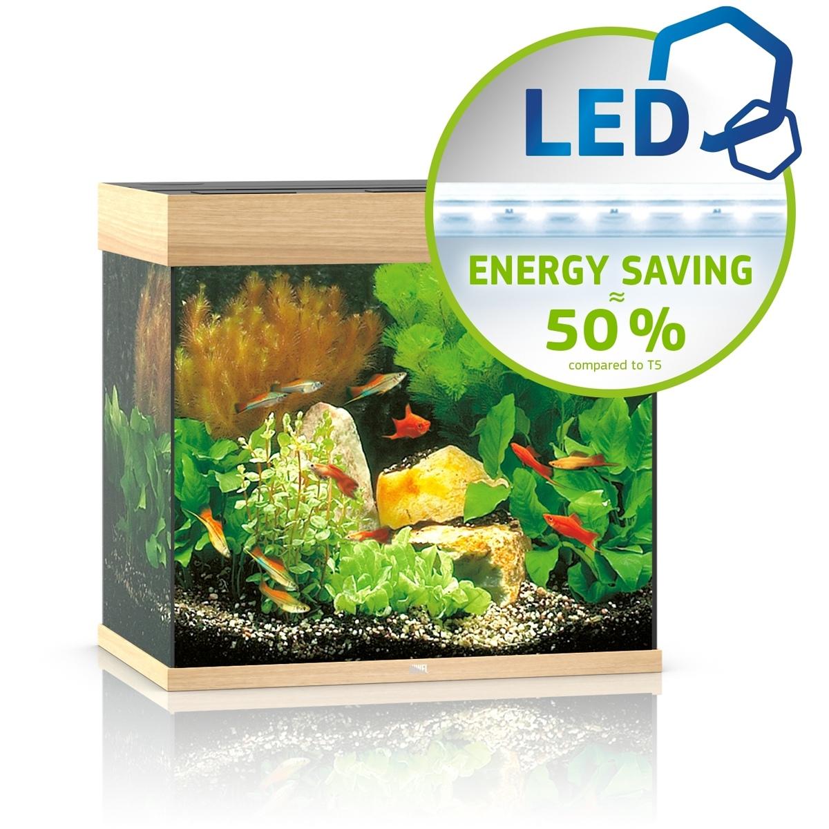 Juwel Lido 120 LED jasne drewno - akwarium