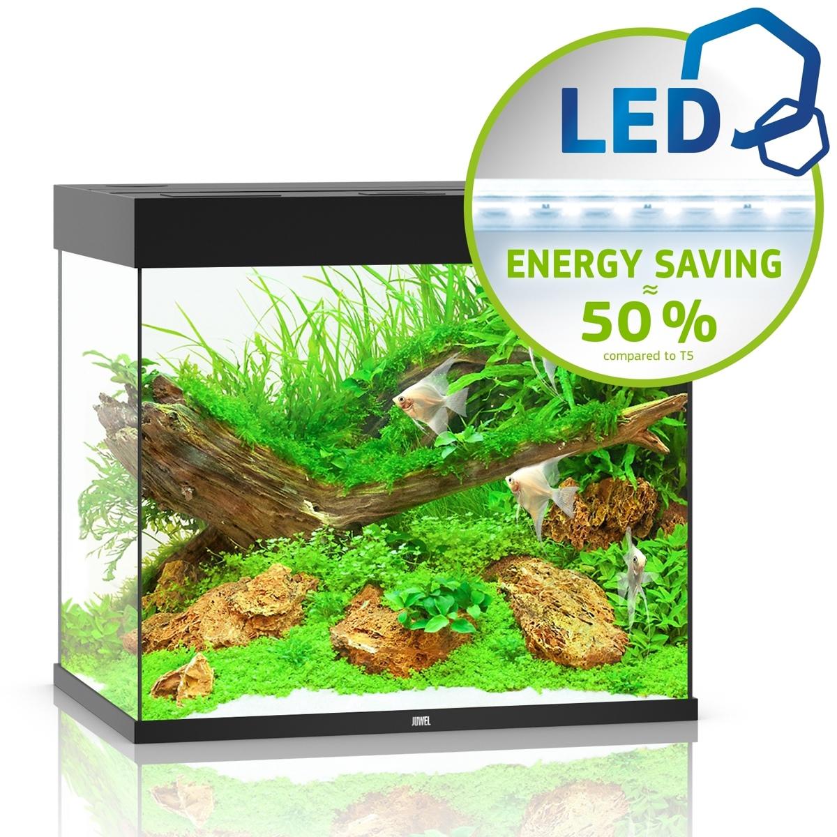 Juwel Lido 200 LED czarny - akwarium