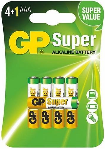 Bateria alkaliczna 1,5V AAA, LR03 5szt.