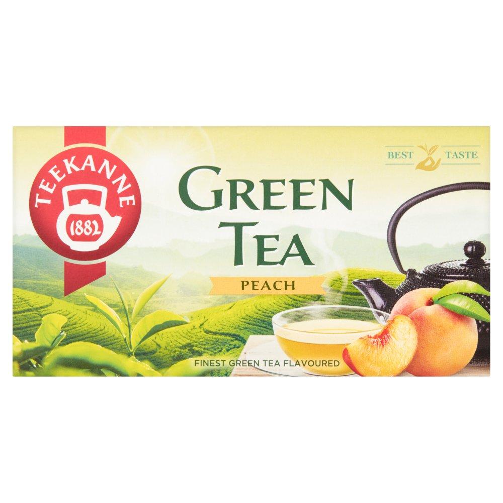 TEEKANNE Green Tea Peach Herbata zielona o smaku brzoskwiniowym (20 tb.) (2)