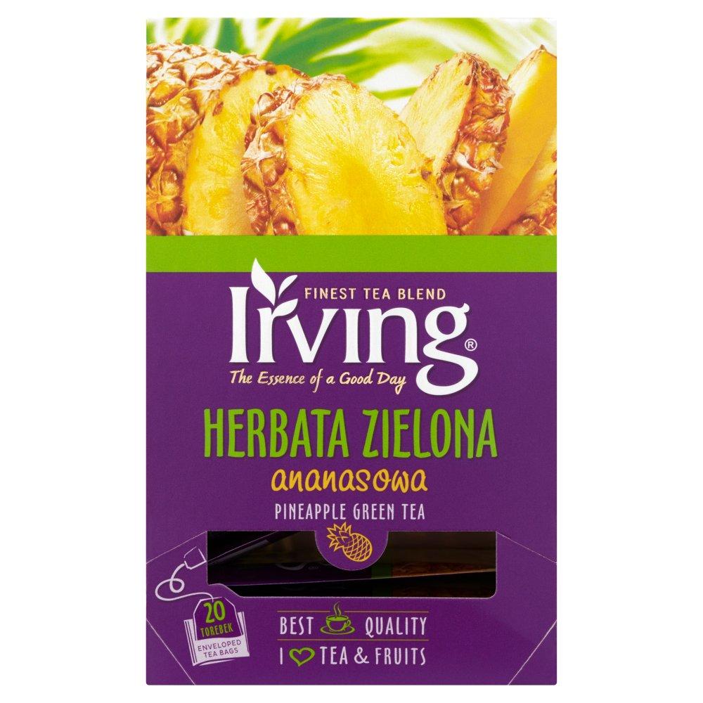 IRVING Herbata zielona ananasowa (20 tb.) (2)