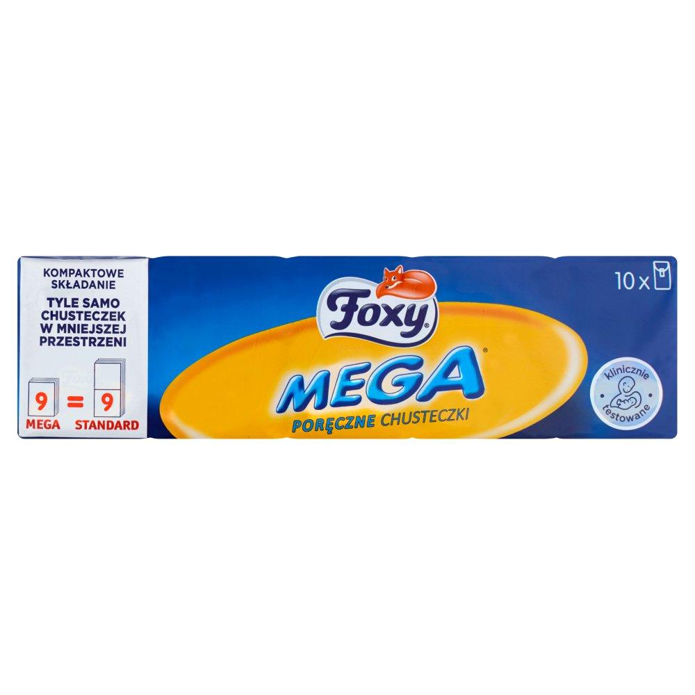 FOXY Mega Poręczne chusteczki (10 x 9 szt.) (2)