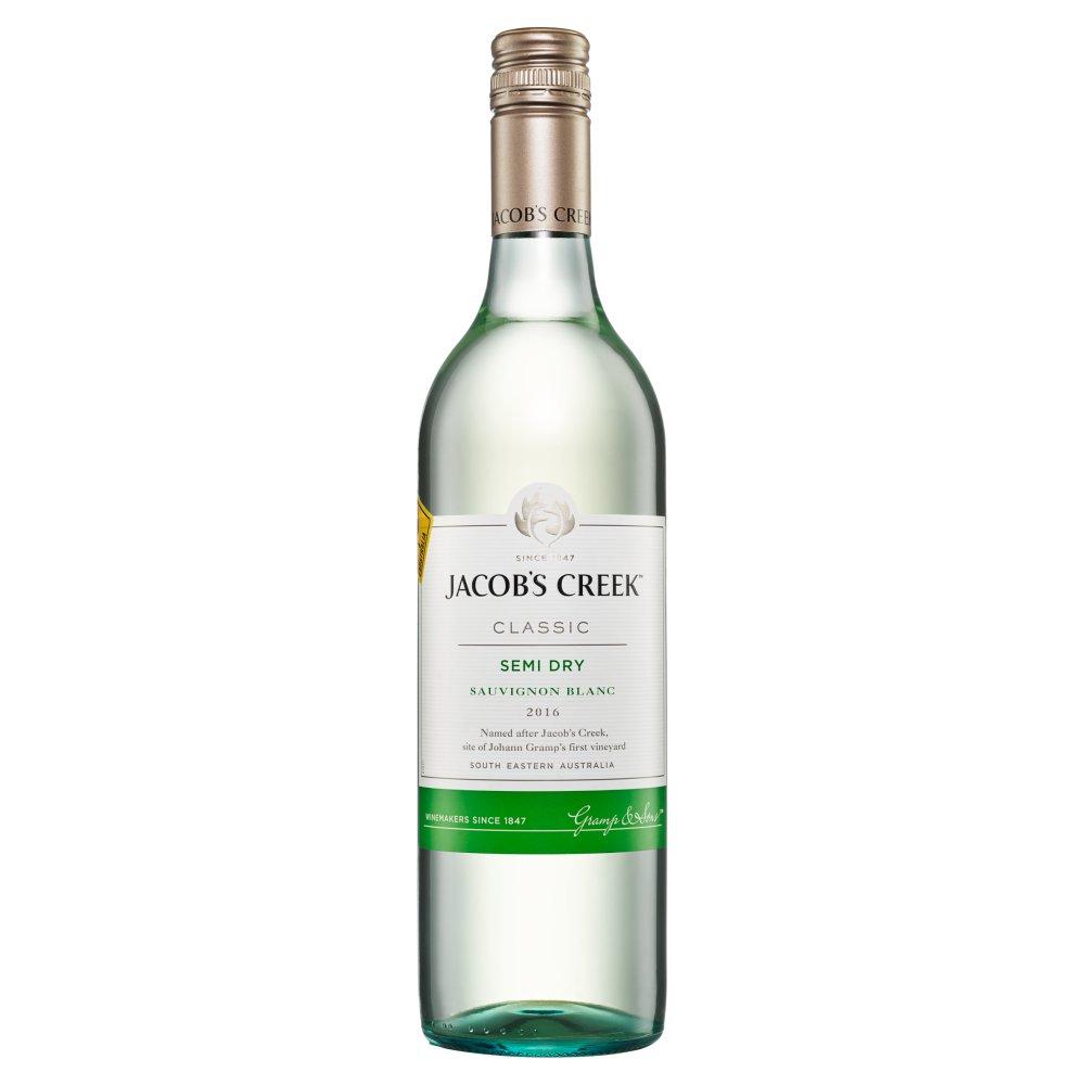 JACOB'S CREEK Sauvignon Blanc Wino białe półwytrawne australijskie