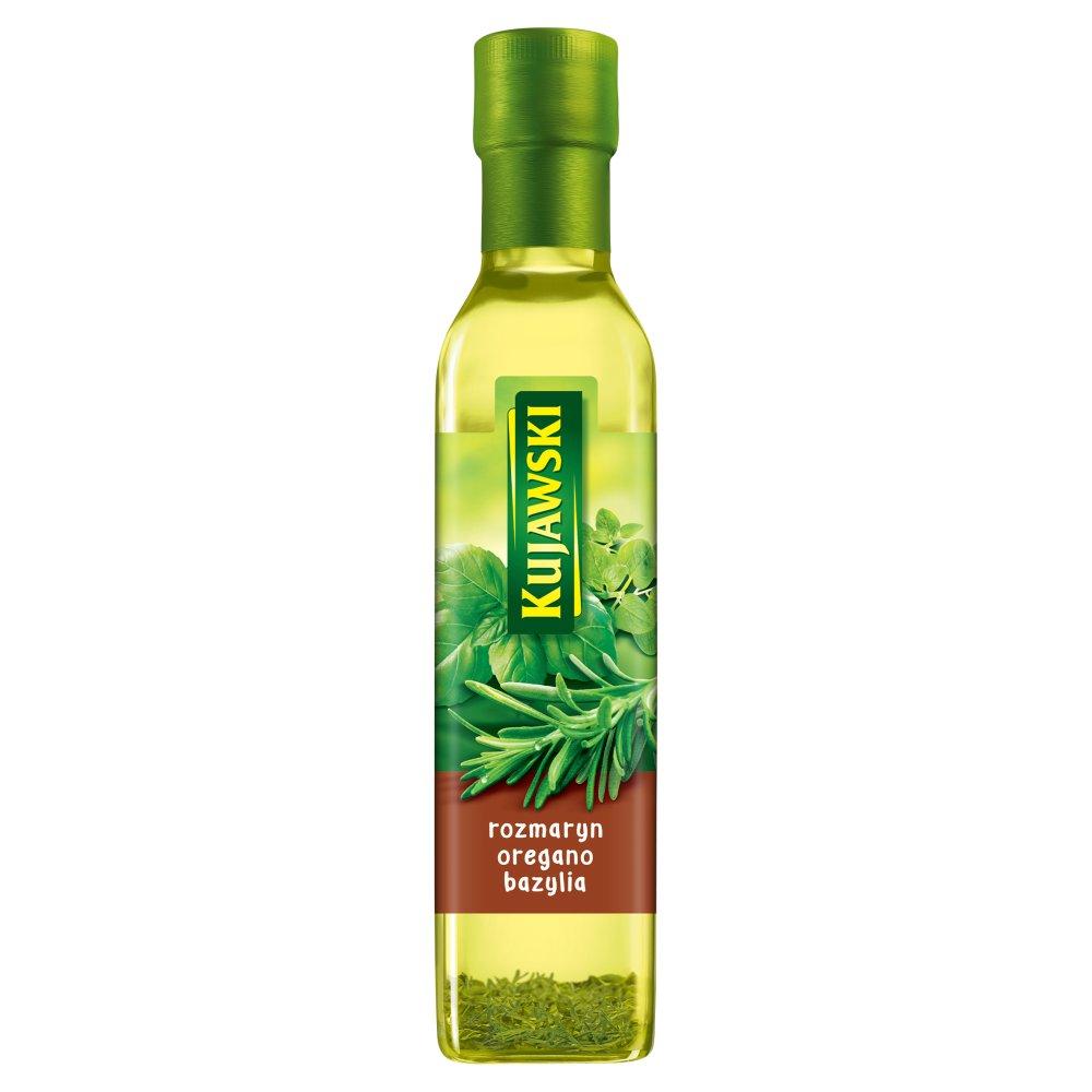 KUJAWSKI Olej rzepakowy z pierwszego tłoczenia z rozmarynem oregano i bazylią (2)