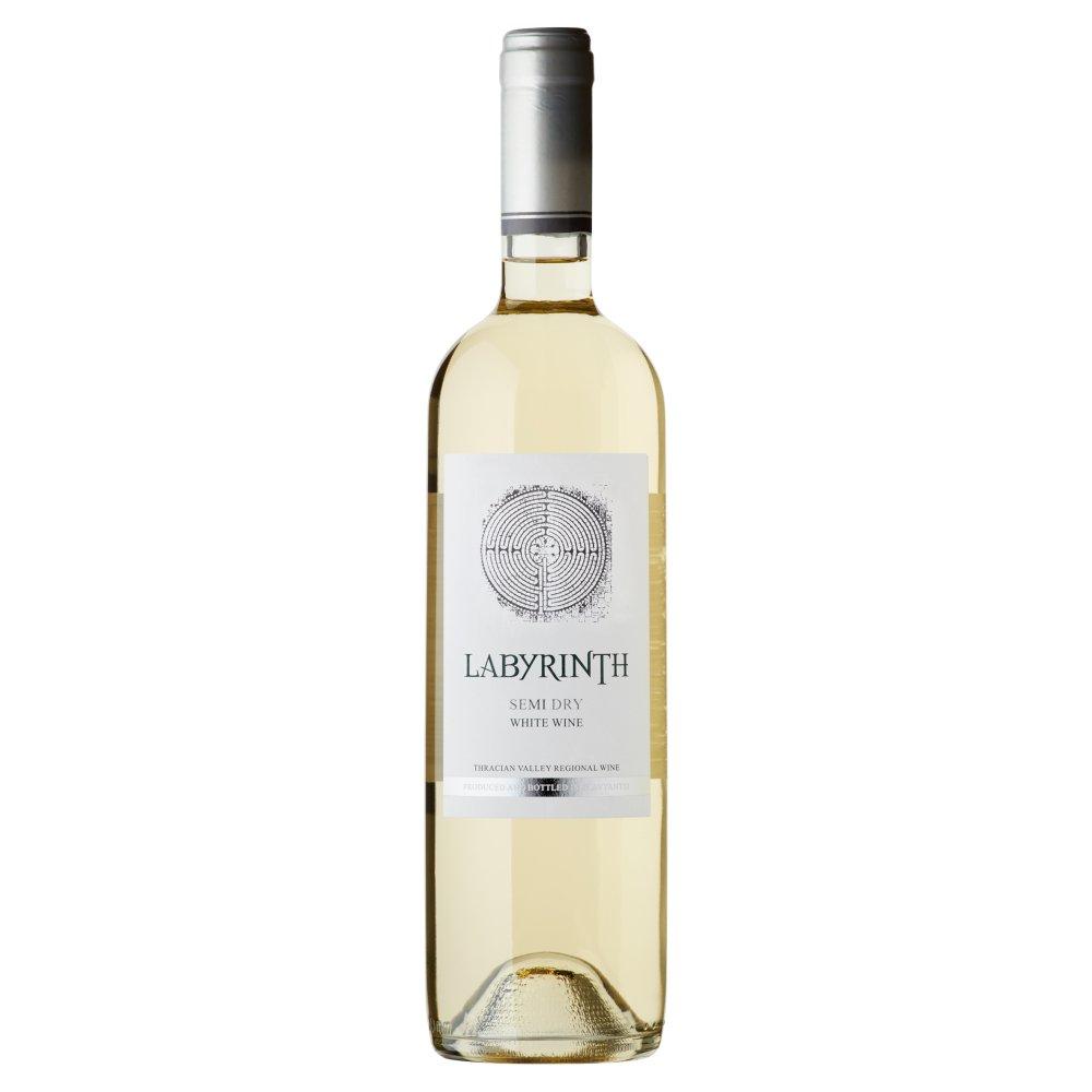 LABYRINTH Wino białe półwytrawne Bułgaria