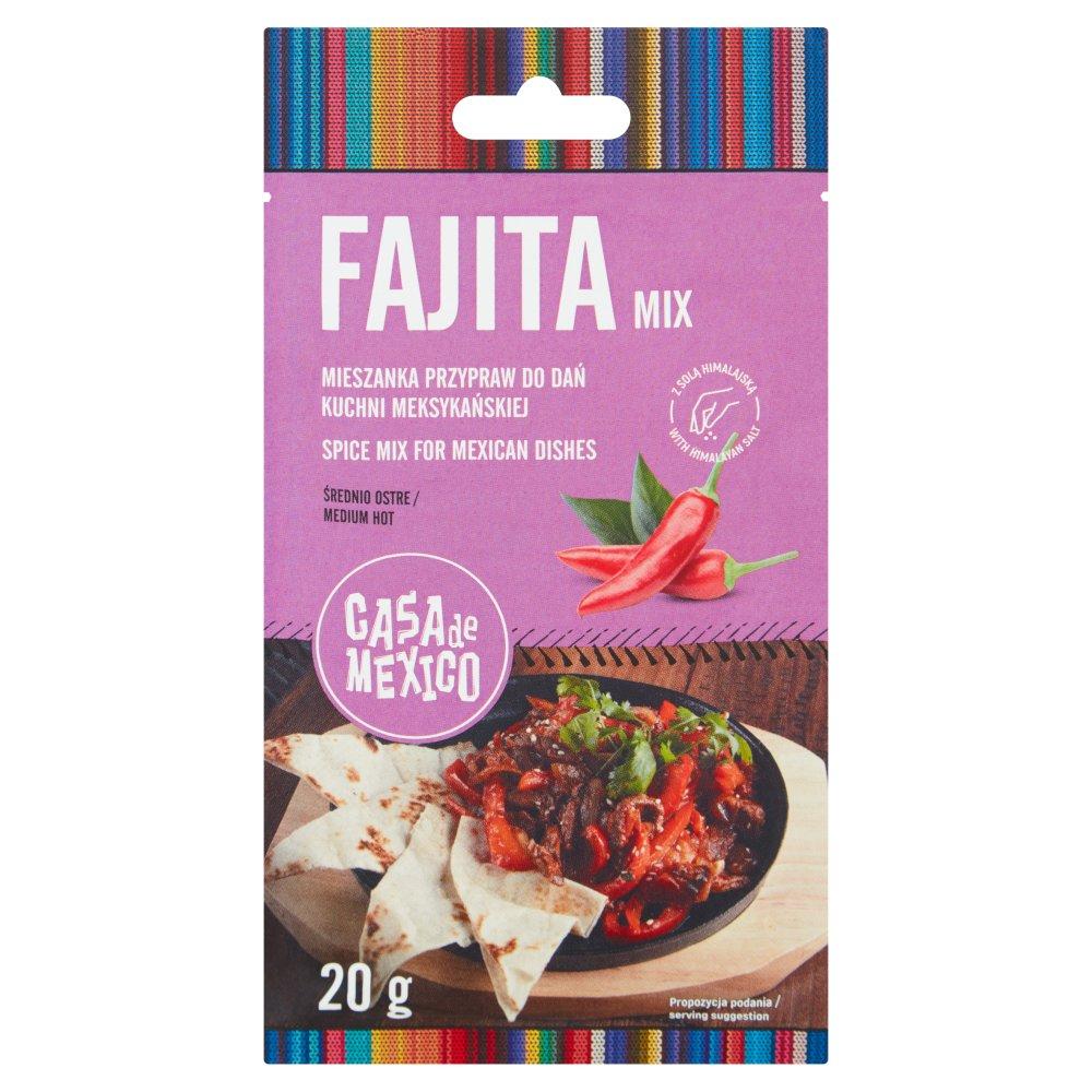 Casa de Mexico Mieszanka przypraw do Fajita 20g (2)