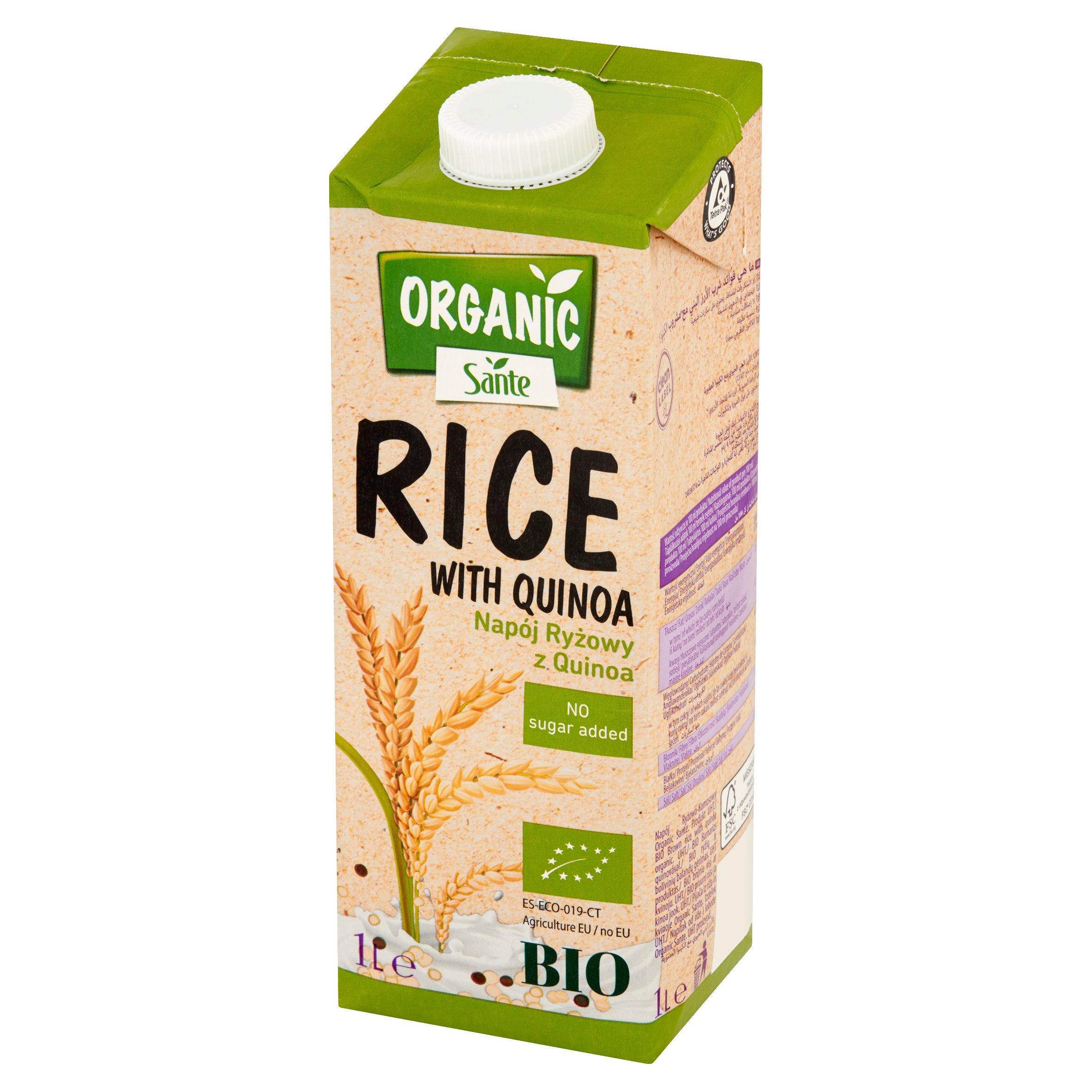 Sante Organic Napój ryżowy z quinoa 1l (3)