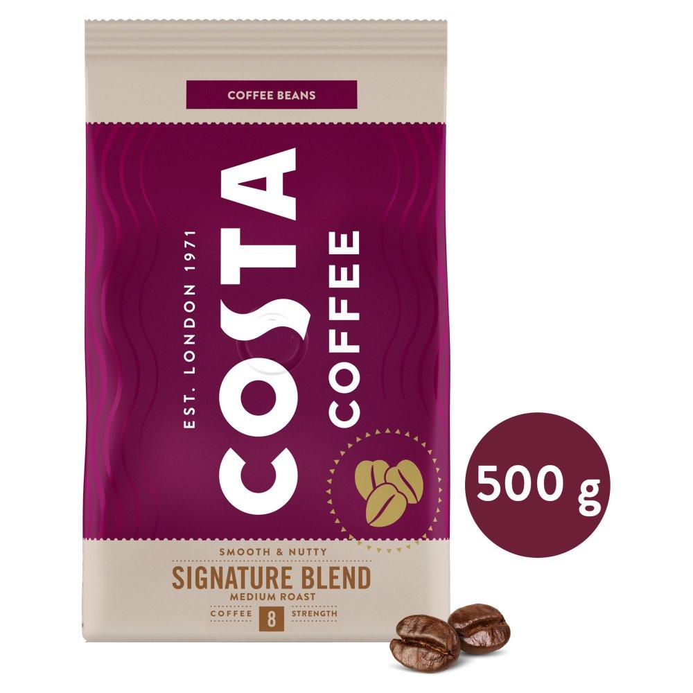Costa Coffee Signature Blend Medium Roast Kawa palona ziarnista 500g (1)