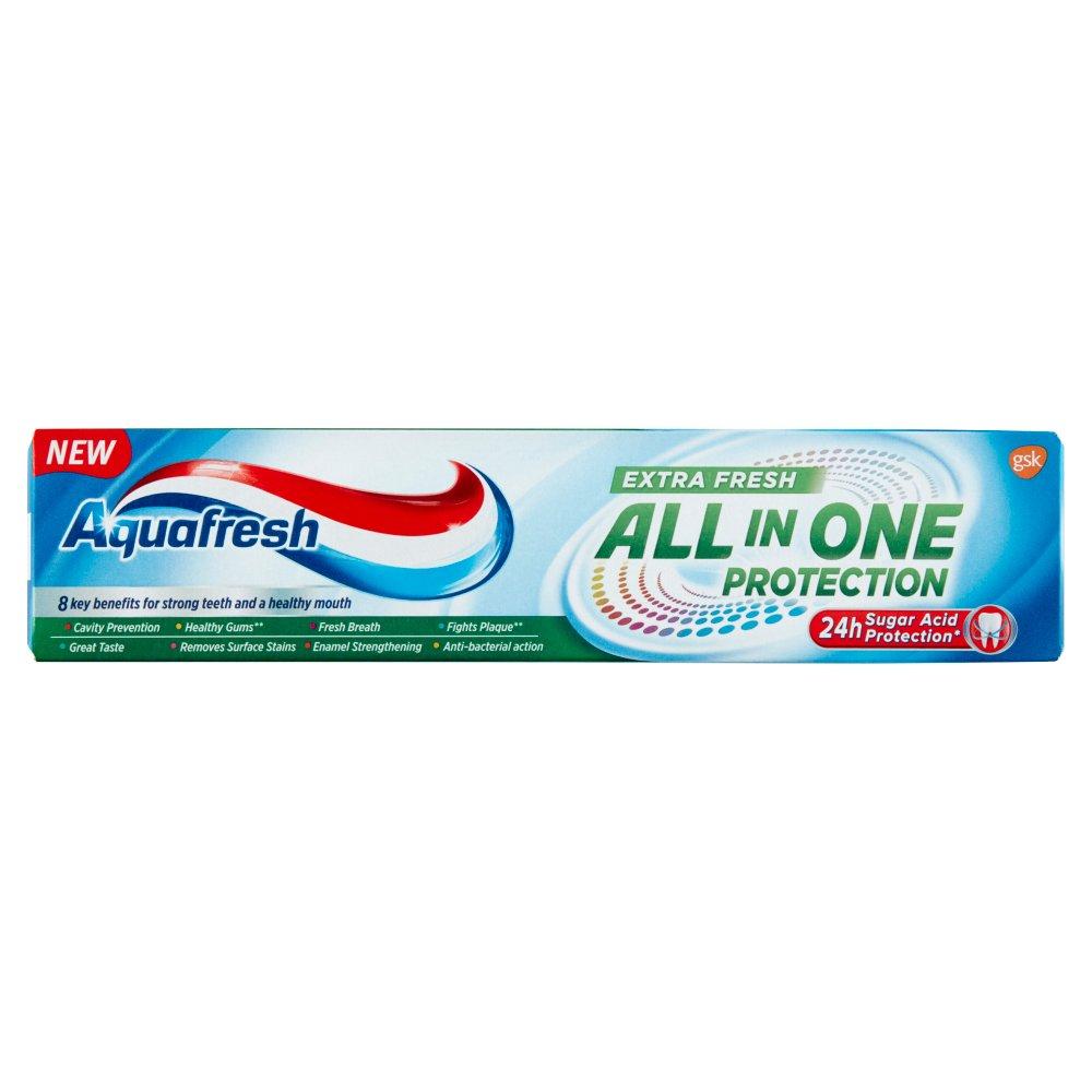 Aquafresh Extra Fresh All in One Protection Pasta z fluorkiem 100 ml (2)