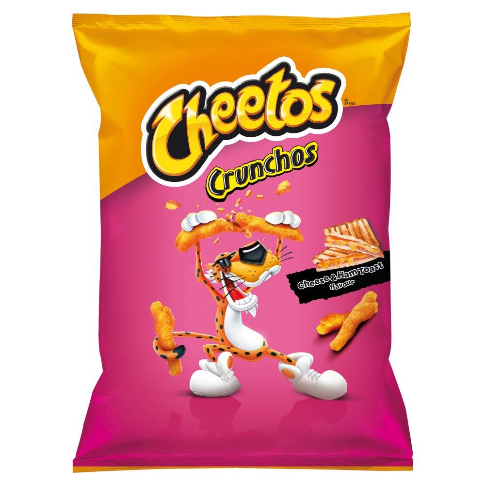 Cheetos Crunchos Chrupki kukurydziane o smaku tosta serowego z szynką 165g (2)