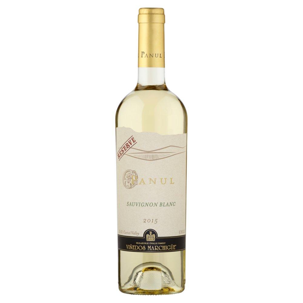 Panul Sauvignon Blanc Wino białe wytrawne chilijskie 750ml (1)