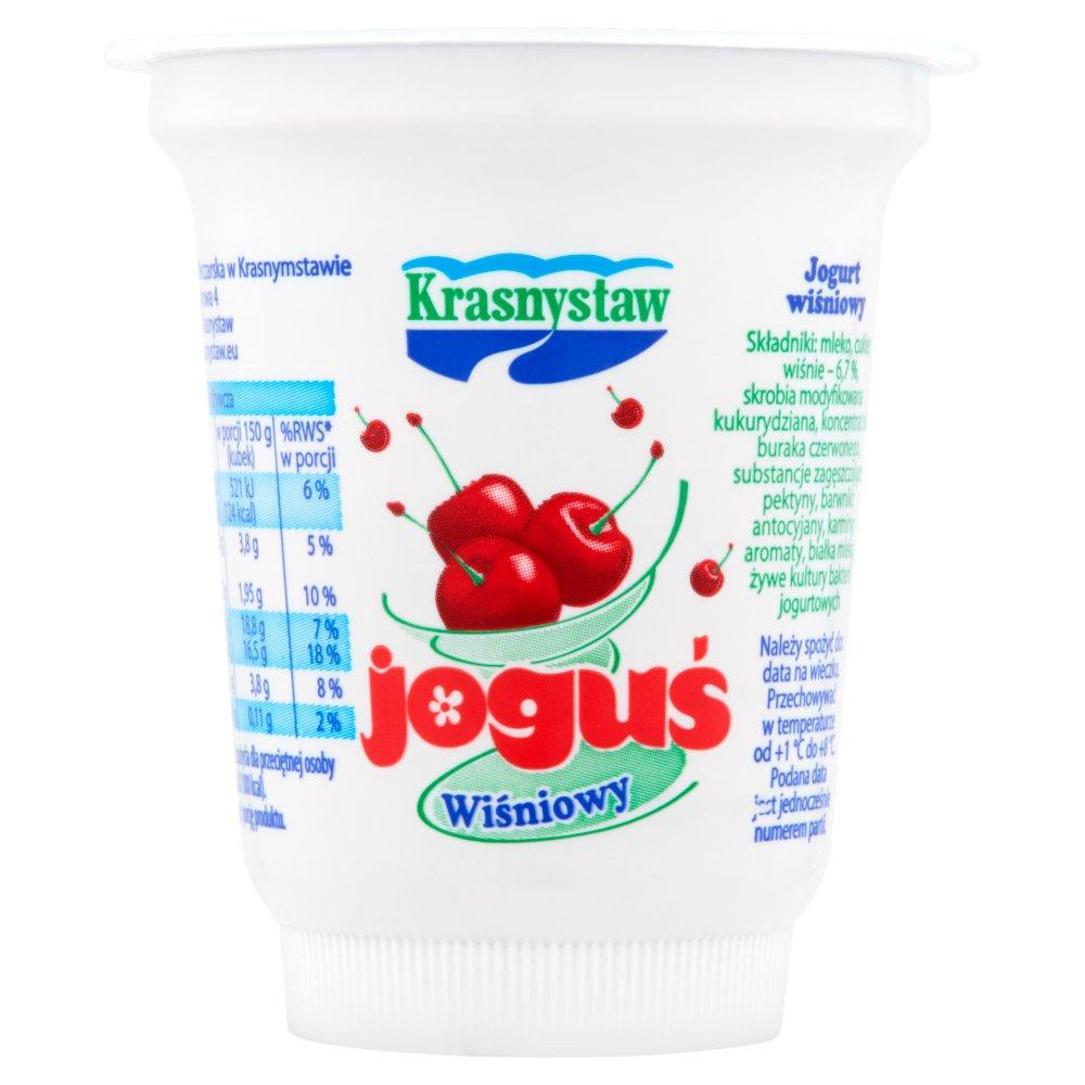 Krasnystaw Joguś Jogurt wiśniowy 150g (2)