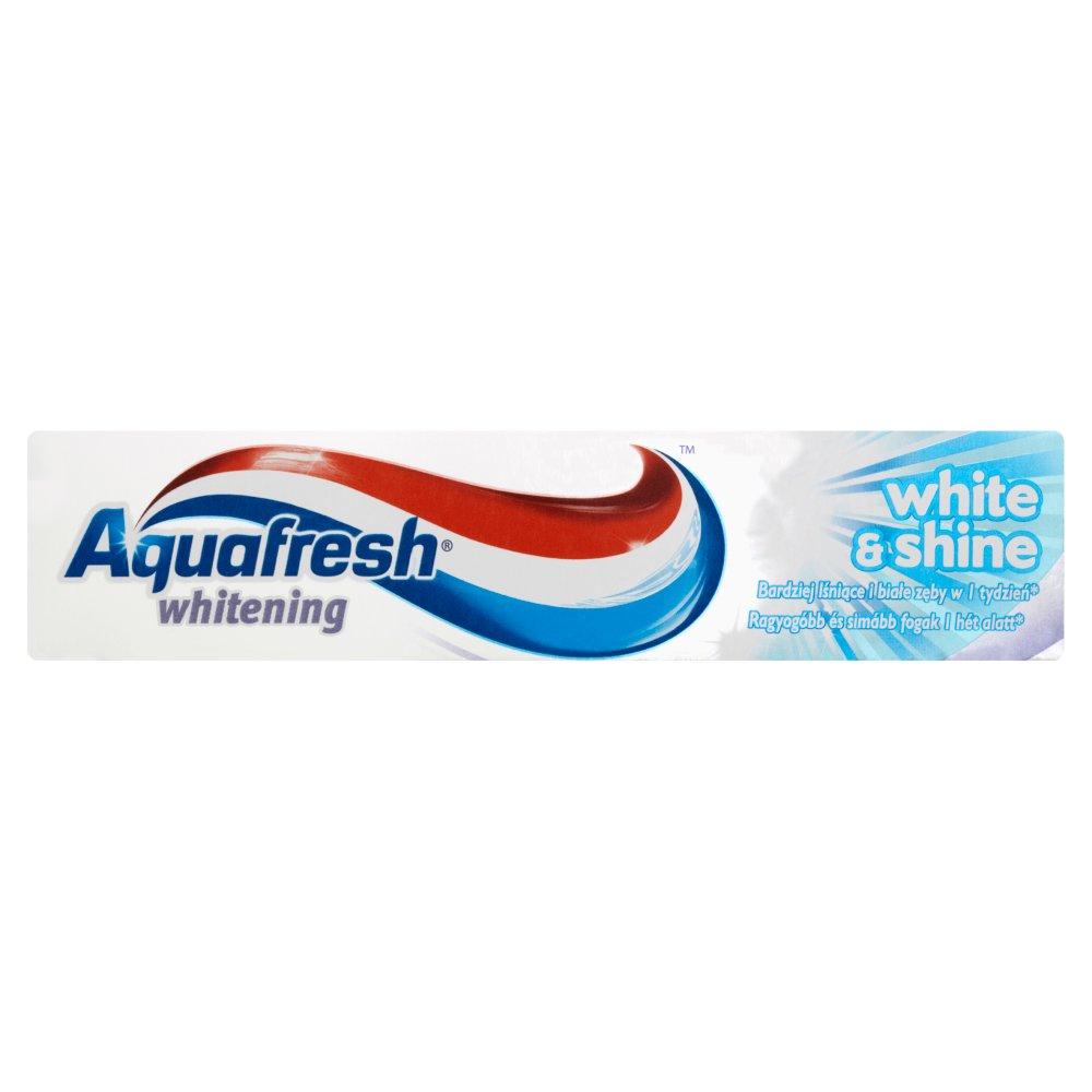 AQUAFRESH Whitening White and Shine Pasta do zębów (2)