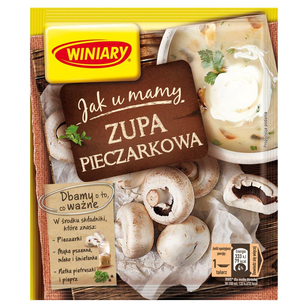 Winiary Jak u Mamy Zupa pieczarkowa 44g (2)