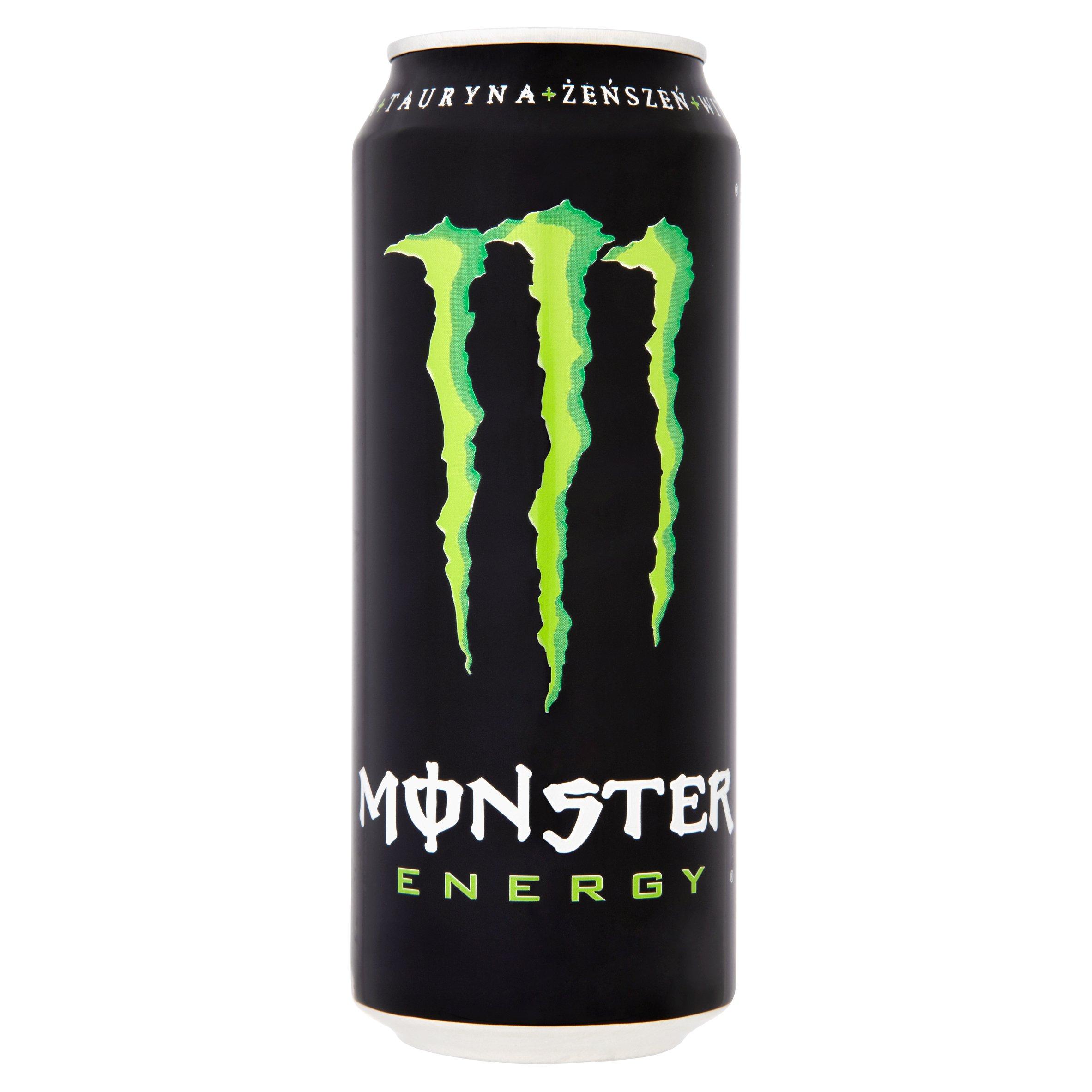 Monster Energy Gazowany napój energetyzujący 500ml (2)