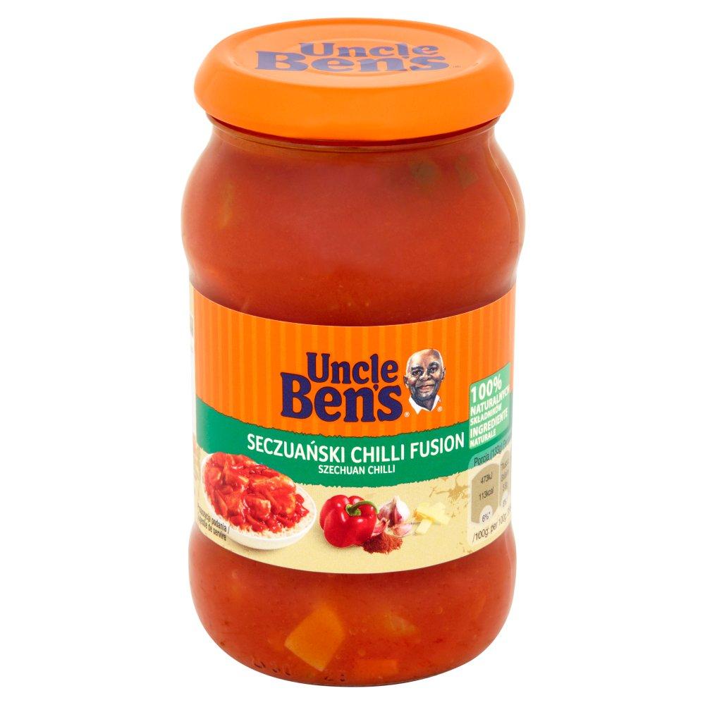 Uncle Ben's Sos seczuański chilli fusion 400g