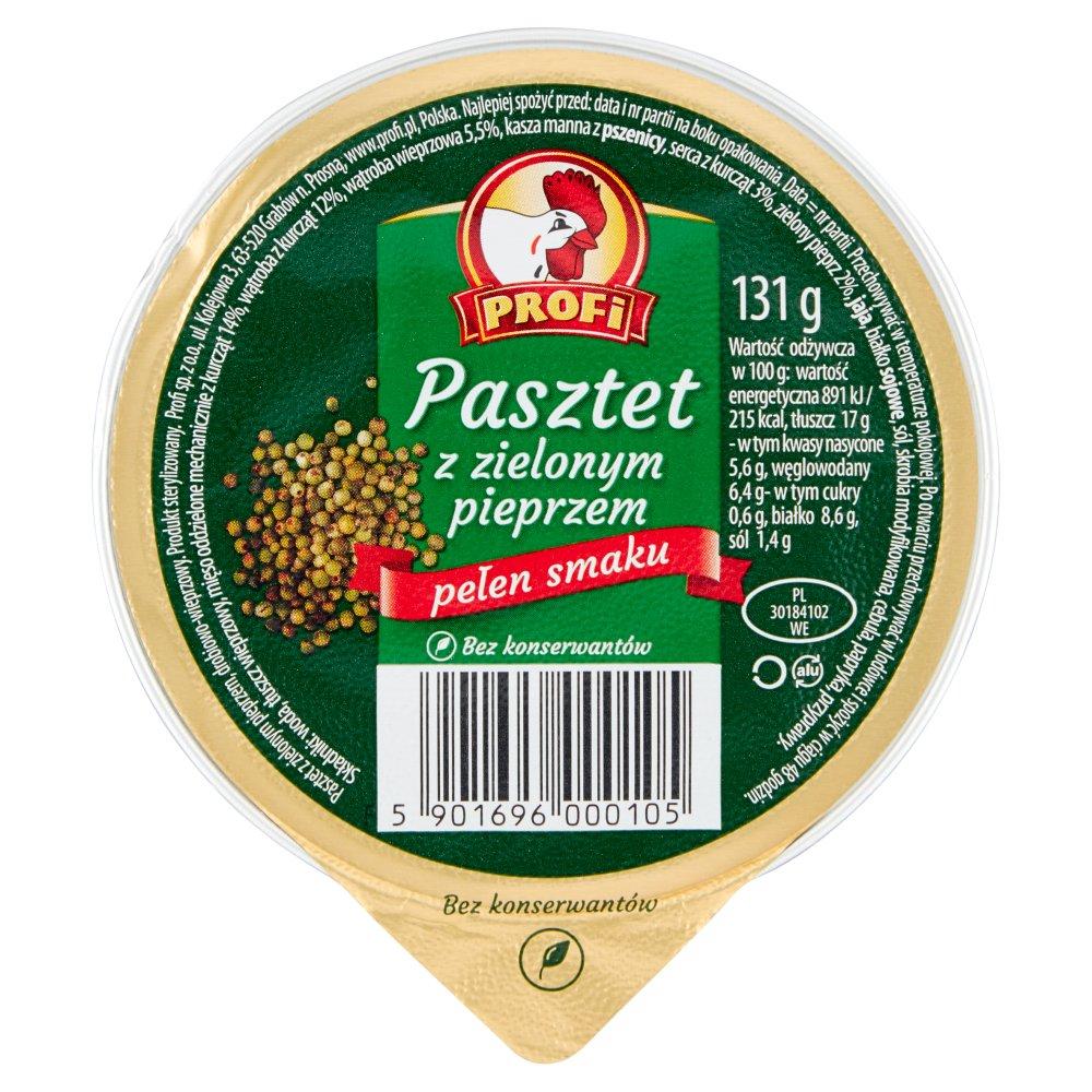 Profi Pasztet z zielonym pieprzem 131g (2)