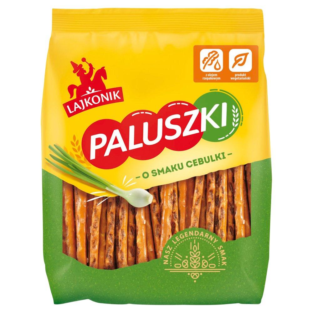 Lajkonik Paluszki o smaku cebulki 150g