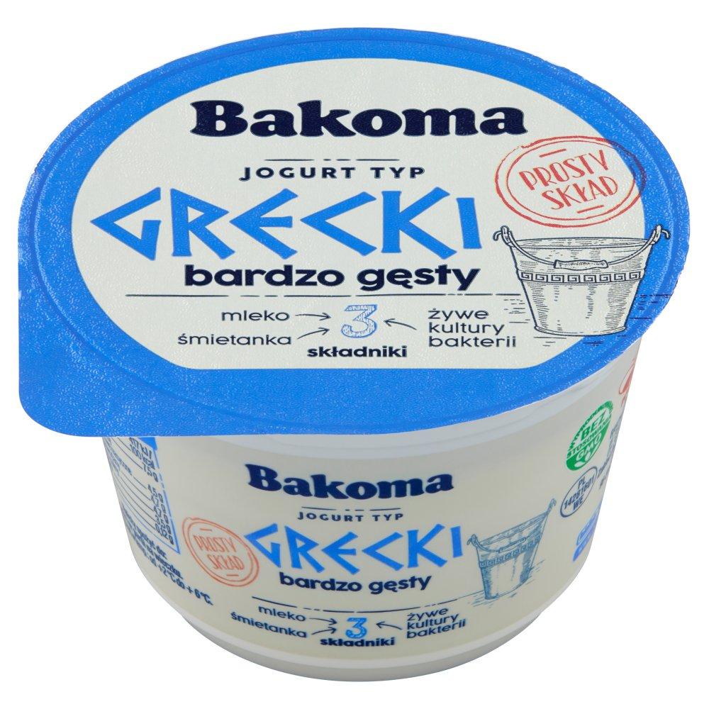 Bakoma Jogurt naturalny typ grecki 200g