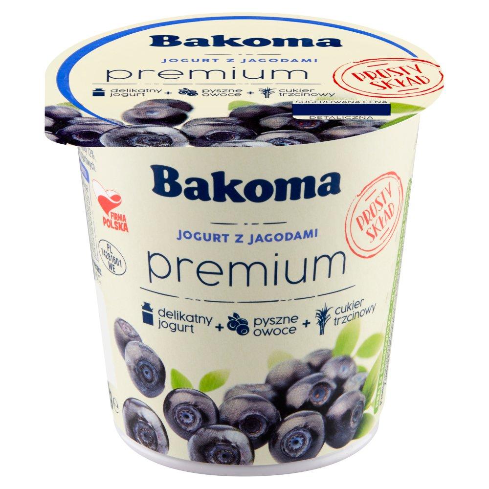 BAKOMA Premium Gold Jogurt z jagodami