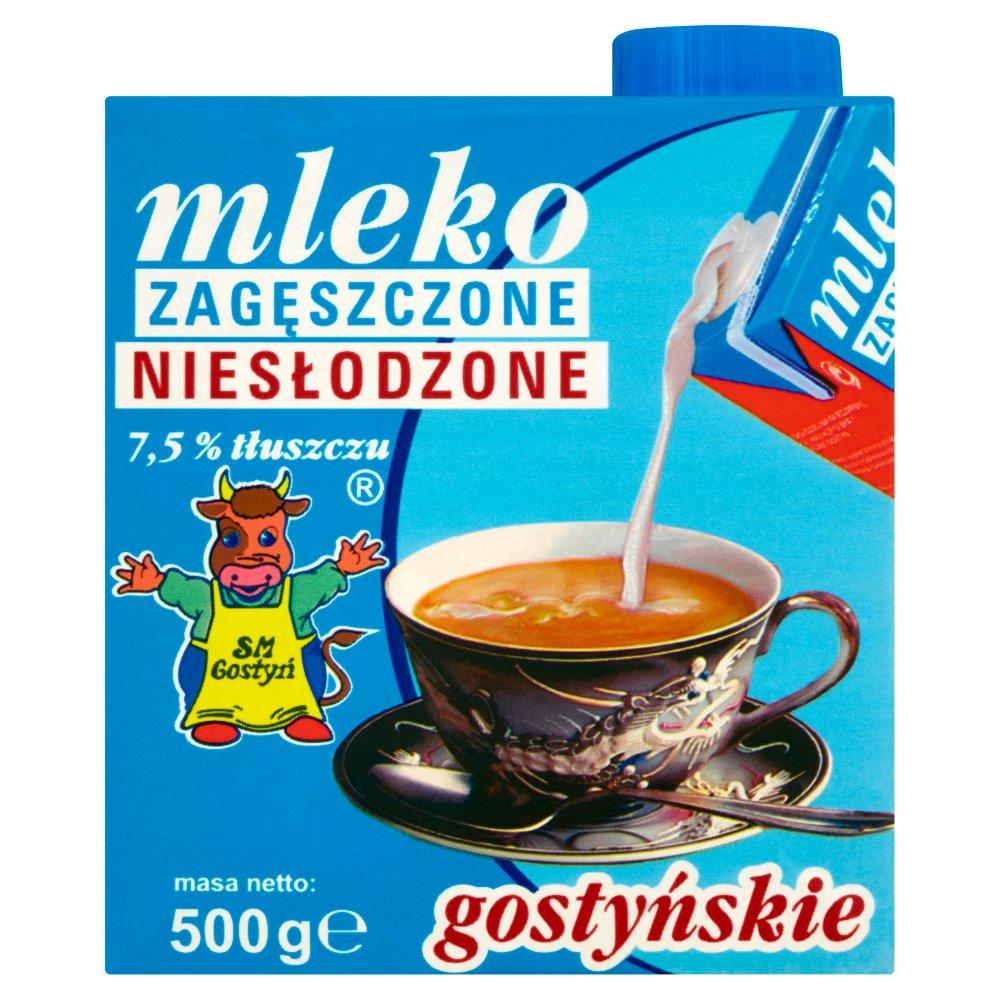 SM Gostyń Mleko gostyńskie zagęszczone niesłodzone 7,5% 500g (2)