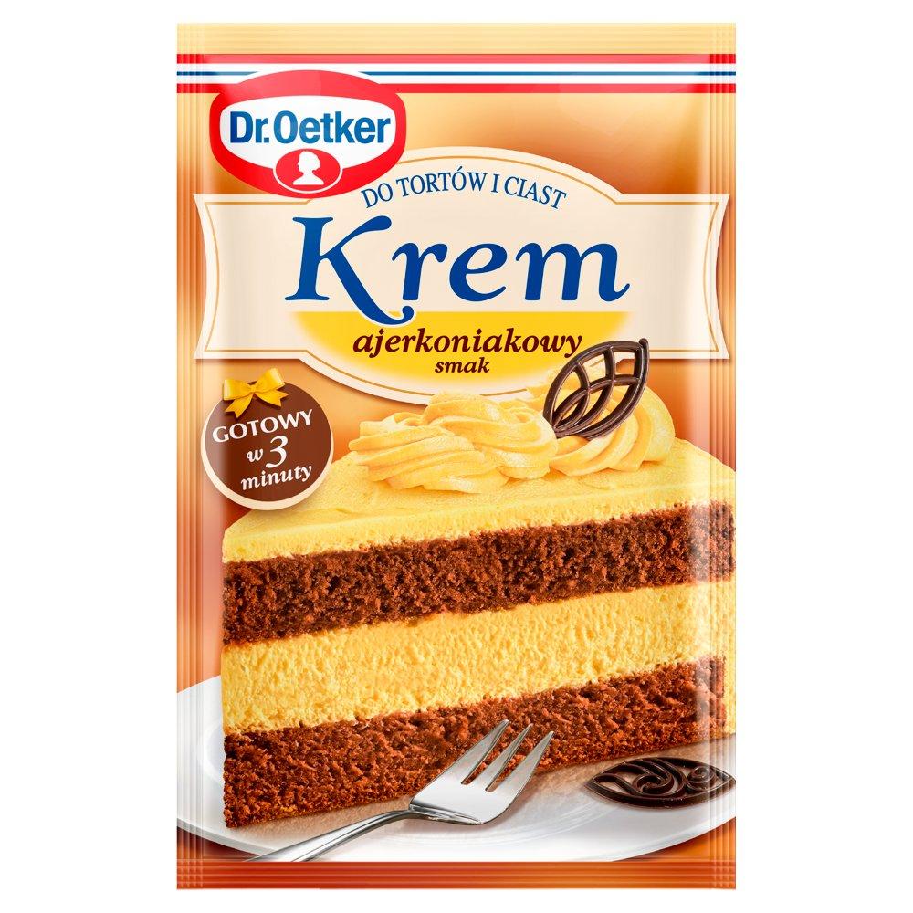 Dr. Oetker Krem do tortów i ciast smak ajerkoniakowy 120g