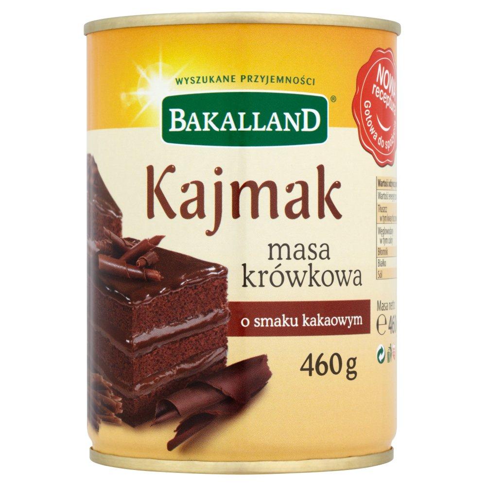 Bakalland Kajmak masa krówkowa o smaku kakaowym 460g (2)