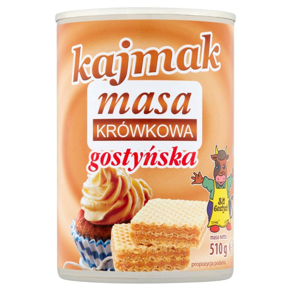 SM Gostyń Kajmak masa krówkowa gostyńska 510g (2)