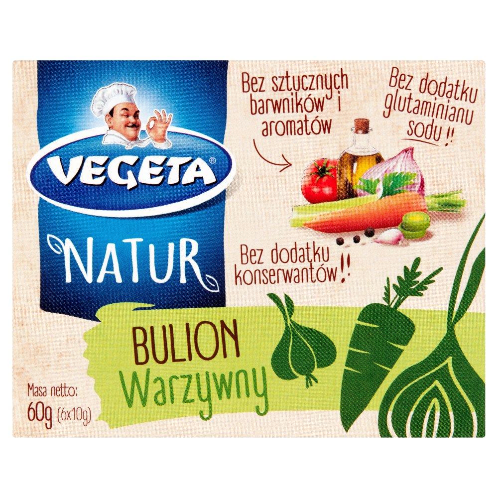 Vegeta Natur Rosół warzywny 60g (6x10g) (2)