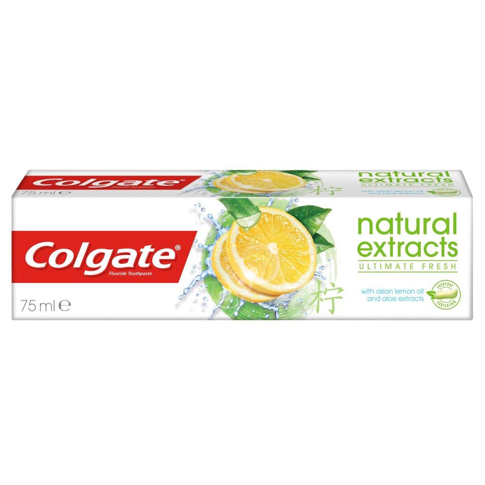 Colgate Natural Extracts Ultimate Fresh Pasta do zębów z fluorem 75ml (2)