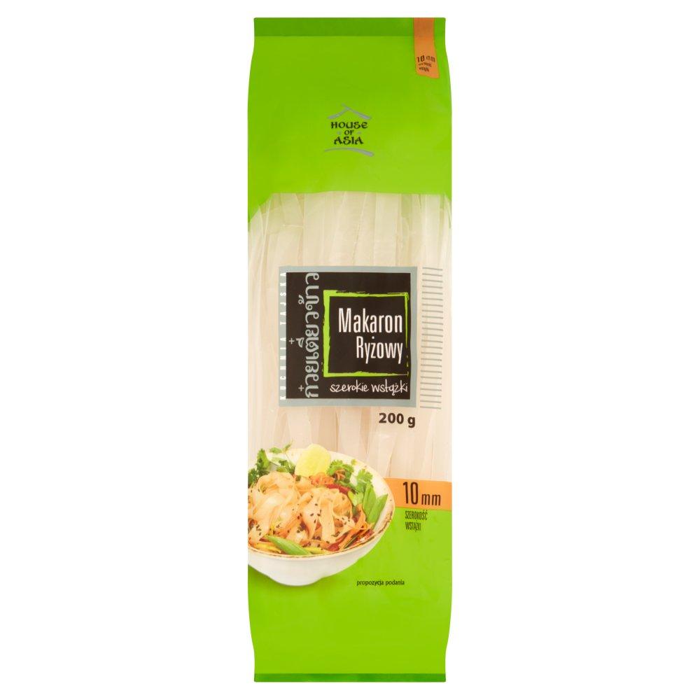 House of Asia Bezglutenowy makaron ryżowy 10mm 200g (2)