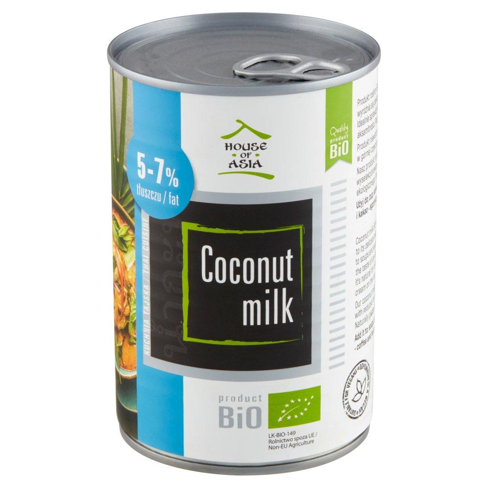 HOUSE OF ASIA Mleczko kokosowe BiO 5-7% tł. (2)