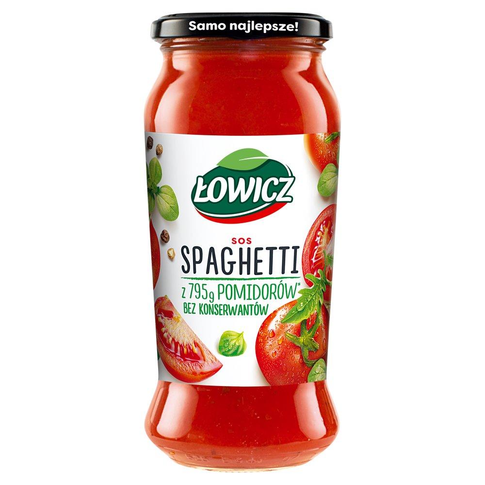 ŁOWICZ Sos spaghetti